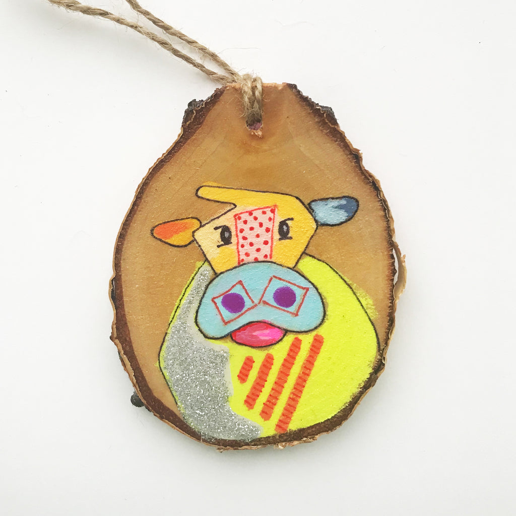 Cow Ornament #39