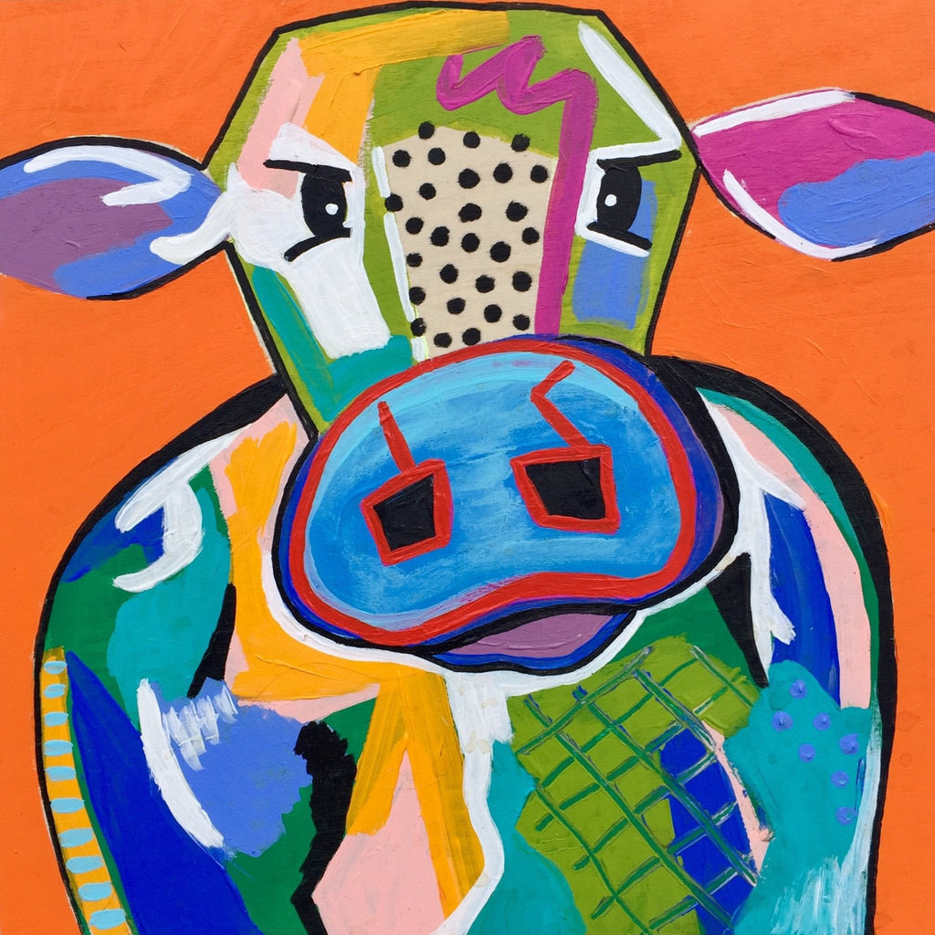 Cole the Cow 8x8