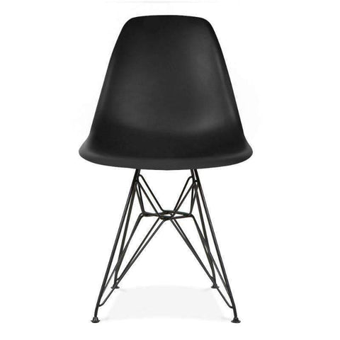 Eames Eiffel Dining Chair PC-073B (Black)