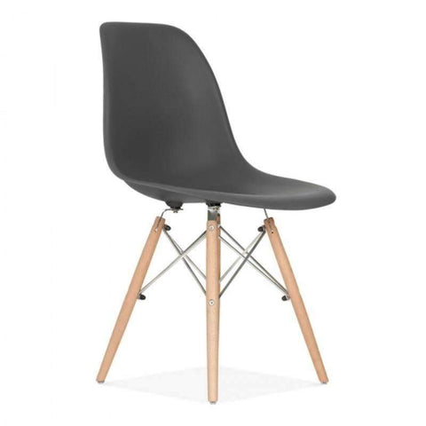 Eames Dining Chair PC-071 (Dark Grey)