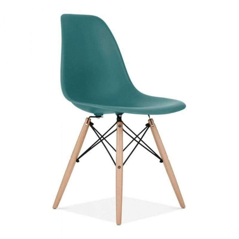 Eames Dining Chair PC-071 (Teal)