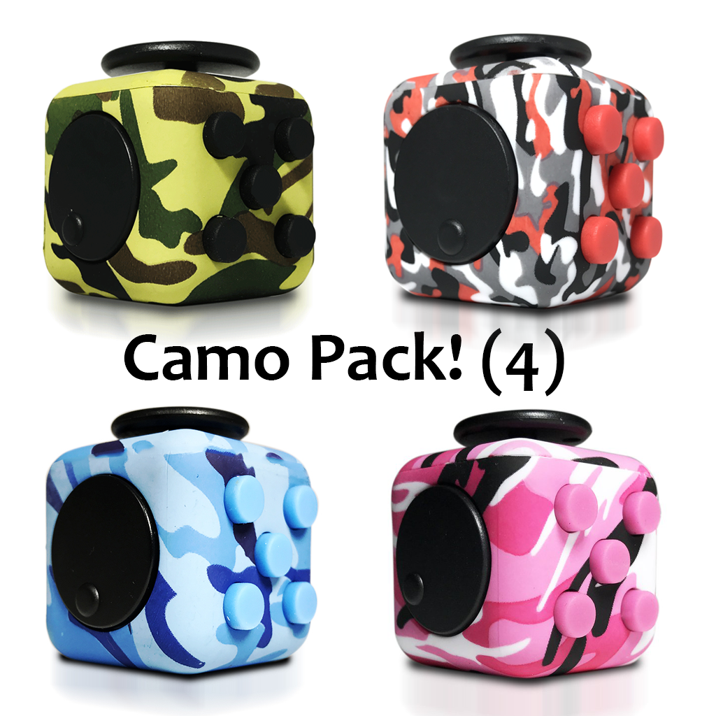 Packs - OMG Fidget Cube Camo Pack