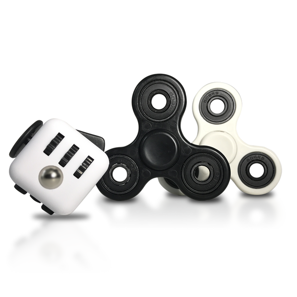 Image result for fidget cube and spinner