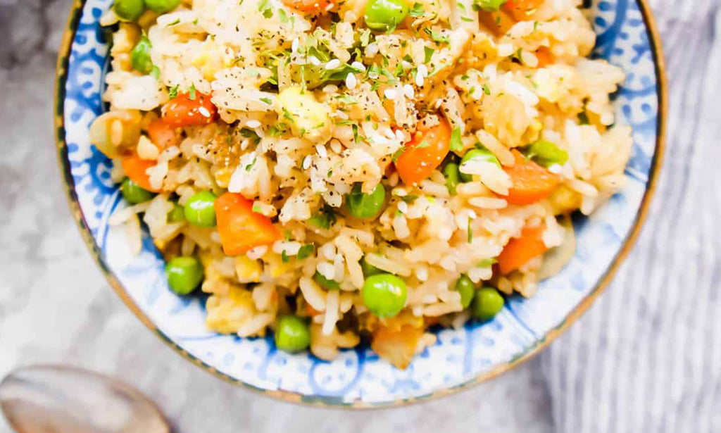 Coconut Aminos Fried Rice (Gluten-Free)