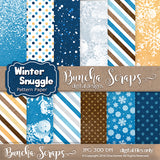 Winter Snuggle Background Pattern Paper