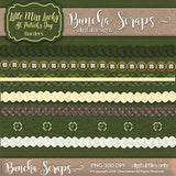 Little Miss Lucky St. Patrick's Day Borders