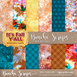 It's Fall Y'all Pattern Digital Scrapbook Paper
