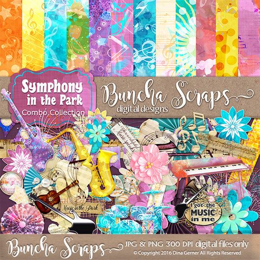 Symphony In The Park Combo Collection
