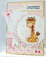 Baby Girl Scrapbook Borders