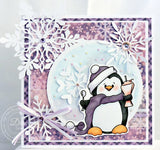 Feeling Frosty Winter Solid Background Paper