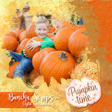 It's Fall Y'all Soilds N Dots Digital Scrapbook Paper