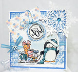Feeling Frosty Winter Digital Scrapbook Embellishment