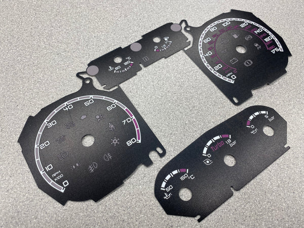 Plain style Dial card set