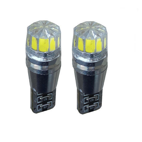 2 X ERROR FREE CANBUS 501 SMD LED SIDELIGHT WHITE BULBS XENON T10 W5W194HID CREE - CuSToMod