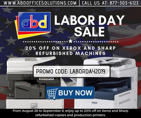 ABD Office Labor Day Sale