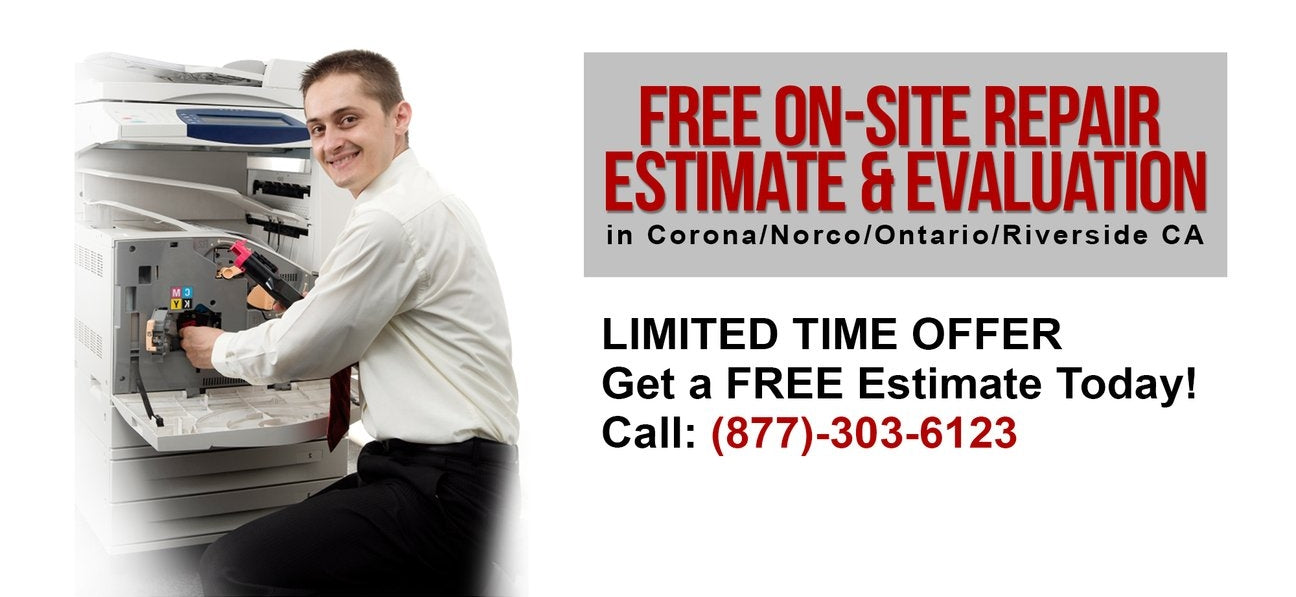 Free On-Site Repair Estimate & Evaluation in Corona, Norco, Ontario, and Riverside areas