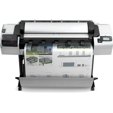 HP DesignJet T2300 44-inch 2 Roll Color Wide Format MFP Printer Scanner