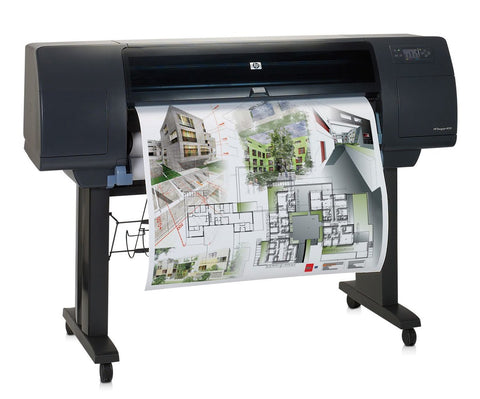 HP DesignJet 4000 42-inch Single Roll Color Wide Format Printer