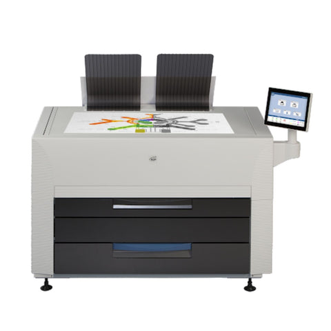 KIP 7570 4-Roll Mono Wide Format Printer with Scanner