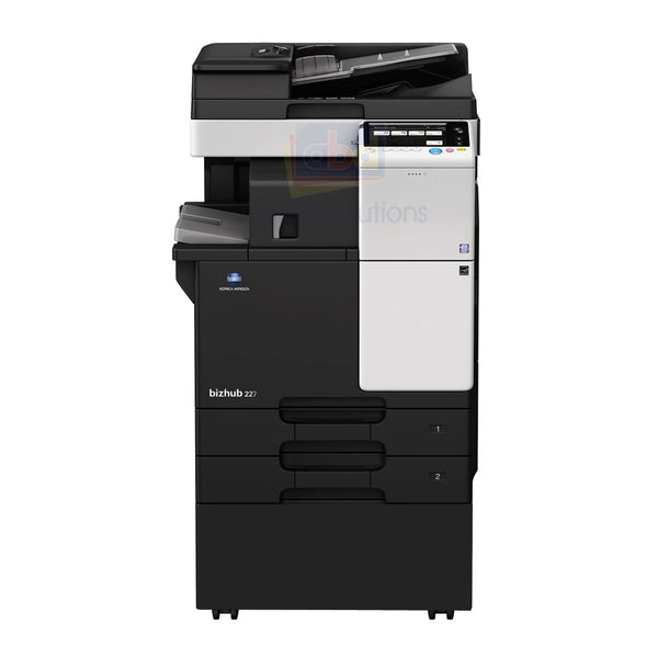 Konica Minolta Bizhub 227 A3 Mono MFP - Refurbished | ABD Office Solutions