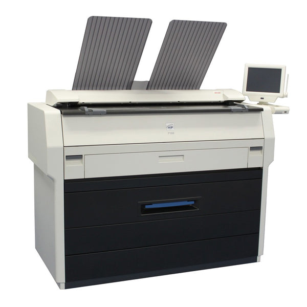 Konica Minolta KIP 7100 Monochrome Wide Format Printer - Used | ABD Office Solutions