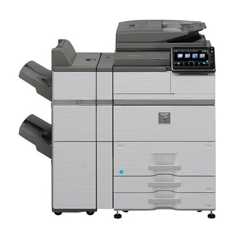 Sharp MX-M754N A3 Mono MFP with FN19 Stapling Finisher