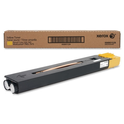 Genuine Xerox 6R1526 Yellow Toner Cartridge for Xerox Color 550/560/570 (006R01526) | ABD Office Solutions