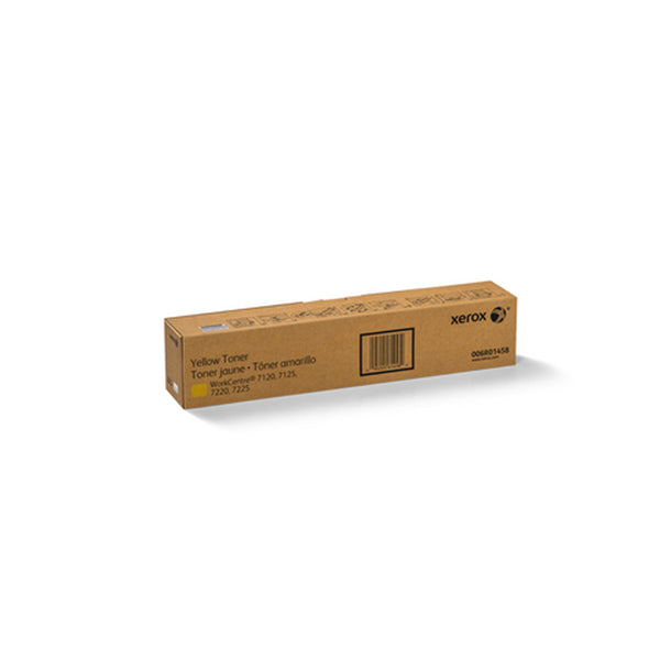 Xerox 006R01458 Yellow Toner Cartridge for WorkCentre 7120/7125/7220/7225 - OEM | ABD Office Solutions
