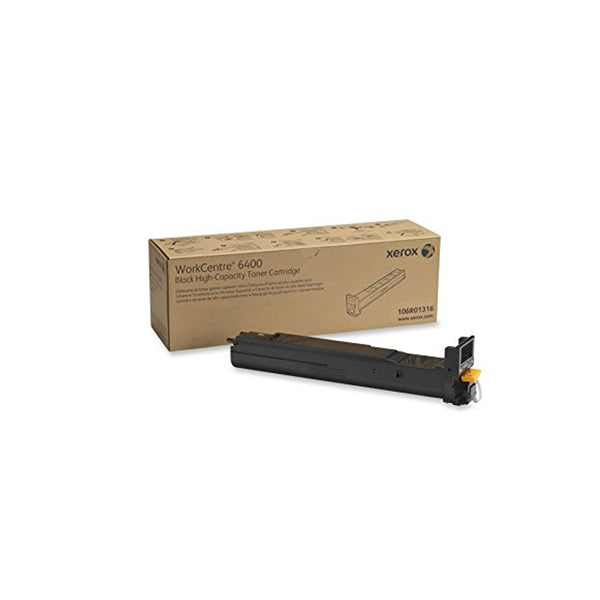 Xerox 106R01316 High Capacity Black Toner Cartridge for WorkCentre 6400 - OEM | ABD Office Solutions