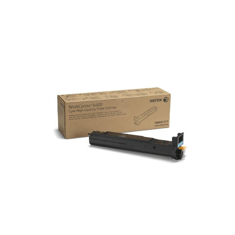 Xerox 106R01317 High Capacity Cyan Toner Cartridge for WorkCentre 6400 - OEM | ABD Office Solutions
