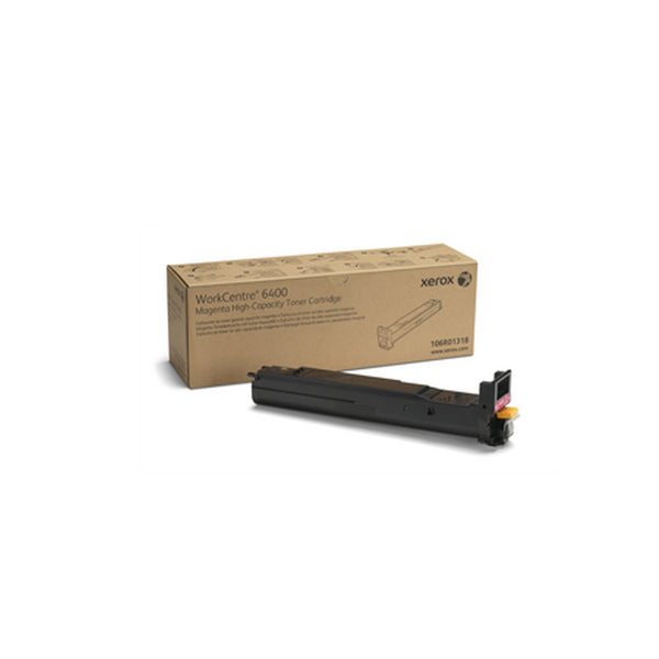 Xerox 106R01318 High Capacity Magenta Toner Cartridge for WorkCentre 6400 - OEM | ABD Office Solutions