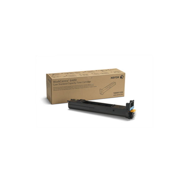 Xerox 106R01320 Standard Capacity Cyan Toner Cartridge for WorkCentre 6400 - OEM | ABD Office Solutions