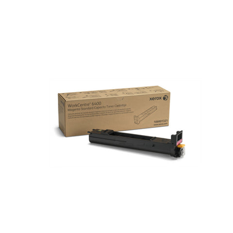 Xerox 106R01321 Standard Capacity Magenta Toner Cartridge for WorkCentre 6400 - OEM | ABD Office Solutions