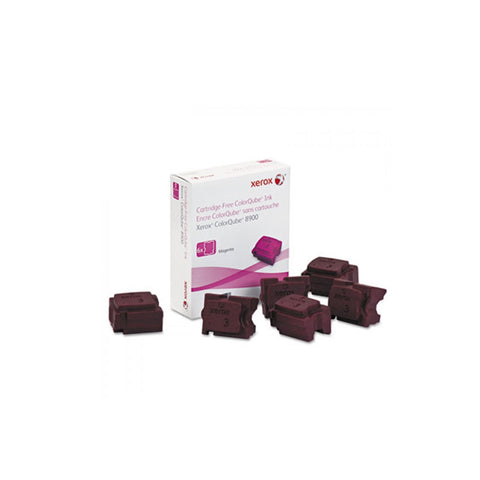 Xerox 108R01015 Magenta Solid Ink Cartridge for ColorQube 8900 (6 Sticks) - OEM | ABD Office Solutions