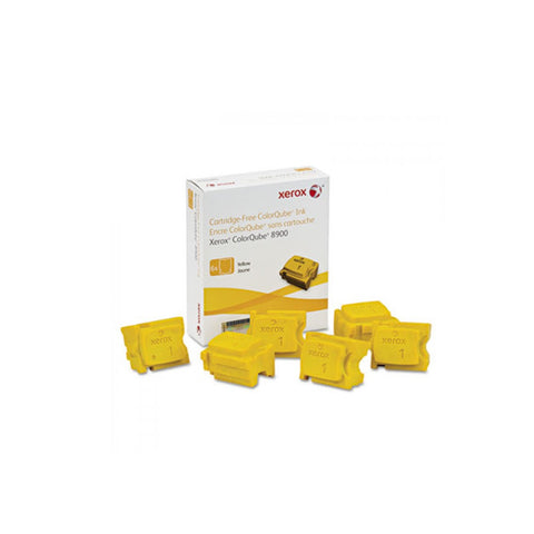 Xerox 108R01016 Yellow Solid Ink Cartridge for ColorQube 8900 (6 Sticks) - OEM | ABD Office Solutions