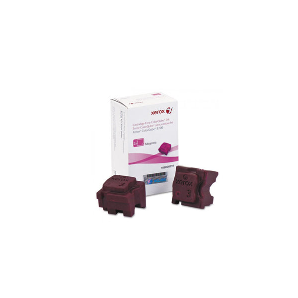 Xerox 108R00991 Magenta Solid Ink Cartridge for ColorQube 8700 (2 Sticks) - OEM | ABD Office Solutions