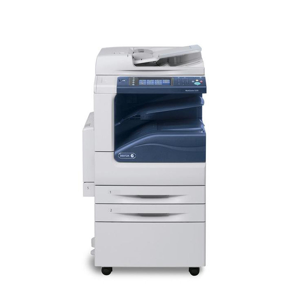 BERTL named the WorkCentre 5335 Best Segment 3 A3 Monochrome Multifunction Printer in its spring 2012 BERTLs Best Awards Fast 667 MHz processor with a 160 GB Hard Drive 1200 x 1200 dpi resolution Powerful scan and fax workflows Versatile media handling EIP security and energy and supplysaving features helped the MFP earn its 5star Exceptional rating