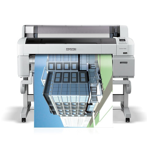 "Epson SureColor T5000 Inkjet Plotter 36"" Color Wide Format Printer"