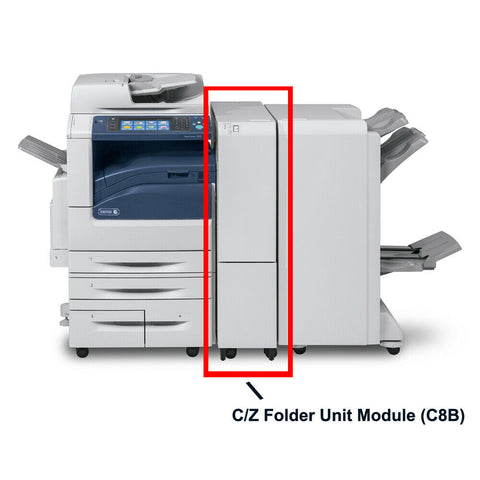 C-Fold and Z-Fold Unit for Booklet Maker Finisher (C8B) for Xerox Color C60/C70