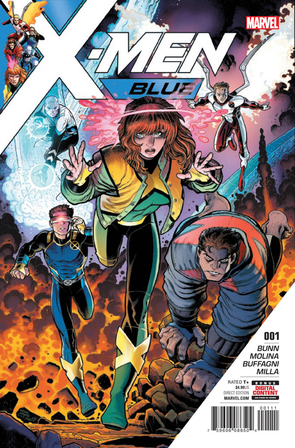 X-MEN BLUE #1: Spoiler Warning