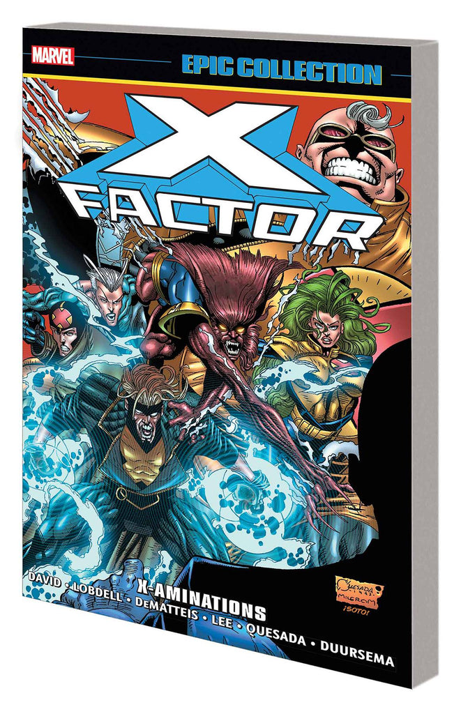 X-FACTOR EPIC COLLECTION TP X-AMINATIONS (11/13/2019)