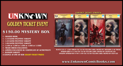 MYSTERY $150.00 BUNDLE - GOLDEN TICKET EVENT (01/29/2020)
