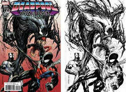 DEADPOOL BACK IN BLACK #5 (OF 5) KRS COMICS EXCLUSIVE TYLER KIRKHAM COLOR AND B/W VIRGIN VARIANT SET