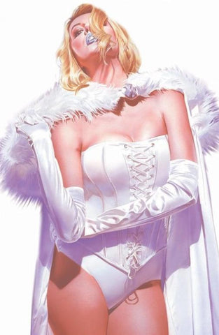 MARAUDERS #4 DX MIKE MAYHEW WHITE QUEEN EXCLUSIVE VIRGIN (01/01/2020)