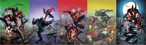 AMAZING SPIDER-MAN #796-800 COMICICXPOSURE CLAYTON CRAIN VIRGIN 5 PACK 8/15/2018