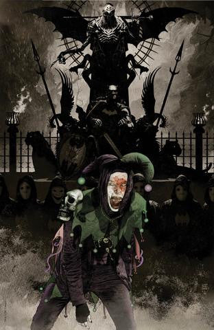 DARK NIGHTS METAL #1 (OF 6) EXCLUSIVE JOKER VIRGIN TIM BRADSTREET