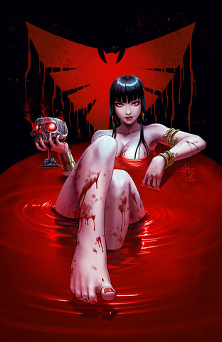VAMPIRELLA #11 UNKNOWN COMICS CREEES EXCLUSIVE VIRGIN VAR (05/20/2020)