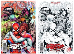 AMAZING SPIDER-MAN RENEW YOUR VOWS #1 KRS COMICS EXCLUSIVE COLOR AND BW SET
