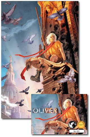 OLIVER #1 UNKNOWN COMIC BOOKS EXCLUSIVE JAY ANACLETO VIRGIN 1/23/2019