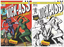 KICK-ASS #1 BIG TIME COLLECTIBLES EXCLUSIVE COVERS 2/14/2018